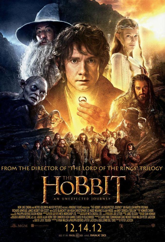 ロード・オブ・ザ・リングのスピンオフシリーズ映画『ホビット 思いがけない冒険』の登場人物と画像