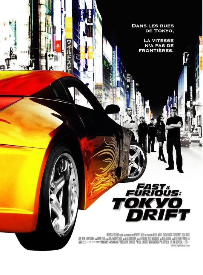 ワイルド・スピード映画シリーズ3作目『ワイルド・スピードX3 TOKYO DRIFT』の登場人物と画像