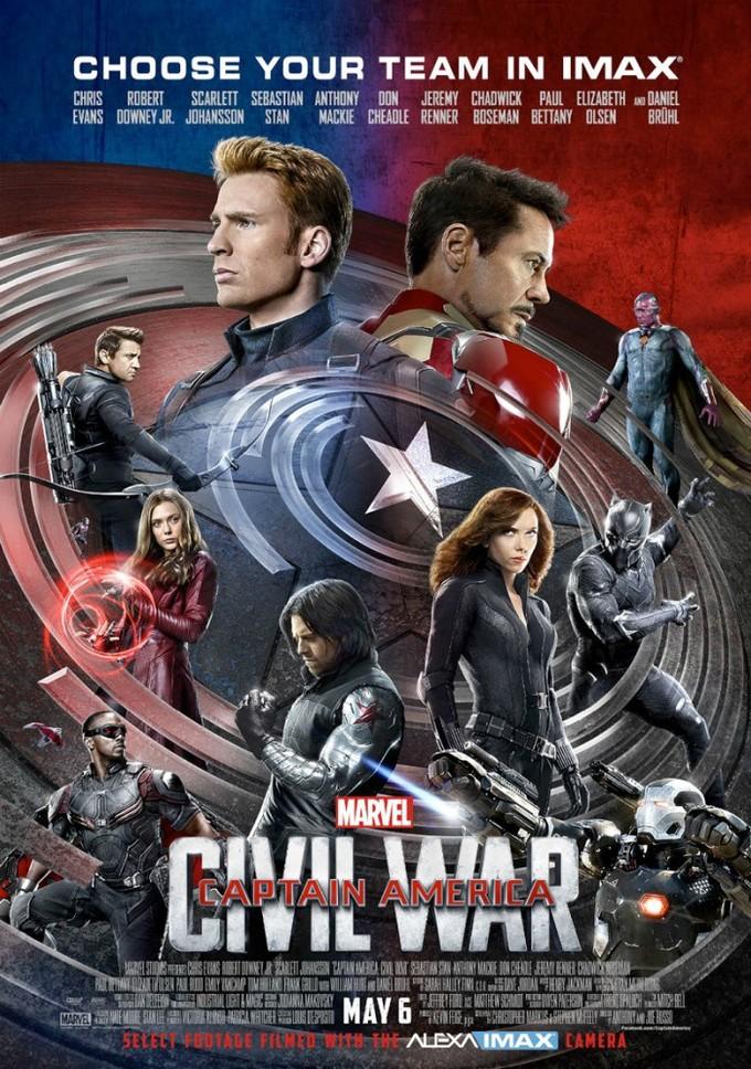 アベンジャーズシリーズ『シビル・ウォー/キャプテン・アメリカ』の登場人物の画像