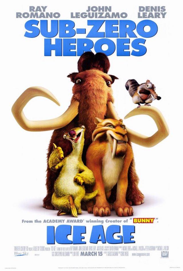 映画シリーズ1作目『アイス・エイジ』(2002年)の登場キャラクターと画像