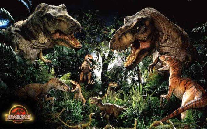 ジュラシック・パークシリーズの恐竜画像
