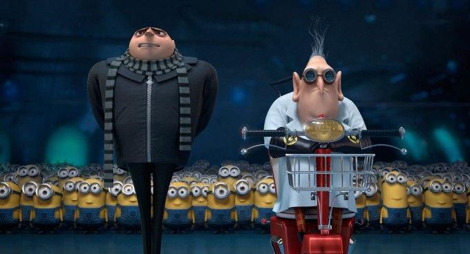 ミニオンズシリーズ映画『怪盗グルーの月泥棒 3D』の登場人物と画像