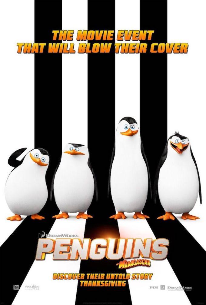 ドリームワークス・アニメーション映画『ペンギンズ FROM マダガスカル ザ・ムービー』の登場人物の画像