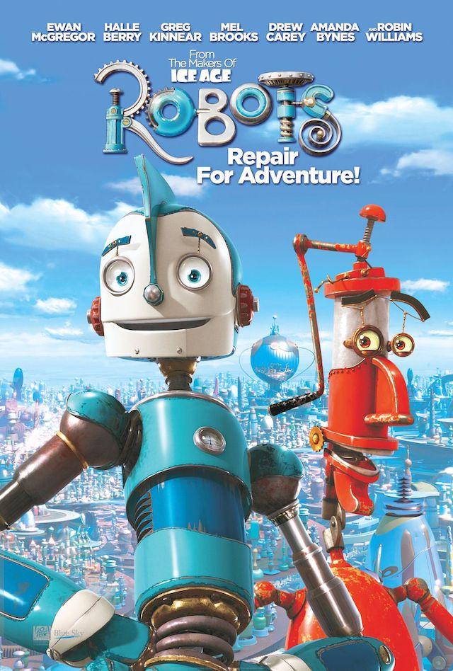 ブルースカイ・スタジオ映画『ロボッツ』の登場キャラクターの画像