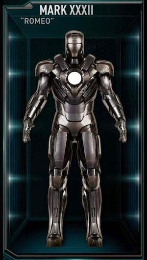 アイアンマンのアーマースーツ「マーク32」の画像