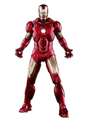 アイアンマンのアーマースーツ「マーク4」の画像
