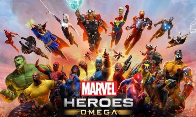 アベンジャーズにも登場するマーベルヒーローの画像