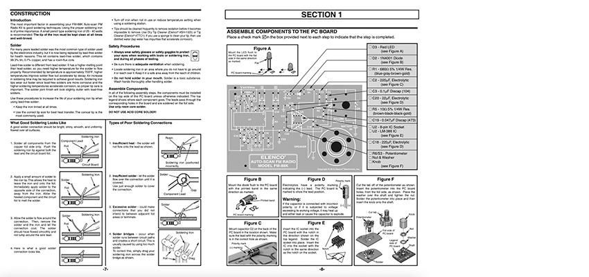 Radio Rhino manual before redesign.