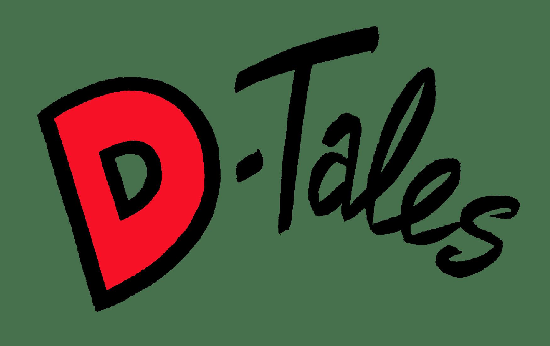 D-Tales logo in tekst