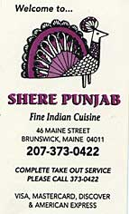 Shere Punjab: Brunswick, Maine