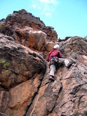 clean Klettern auf Zypern