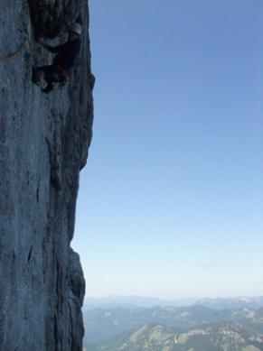 Klettern im Rofan
