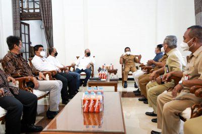 Ketua DPD RI La Nyala bertemu Bupati Lumajang Thoriqul Haq
