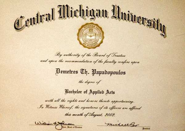 B.A.A Diploma from CMU