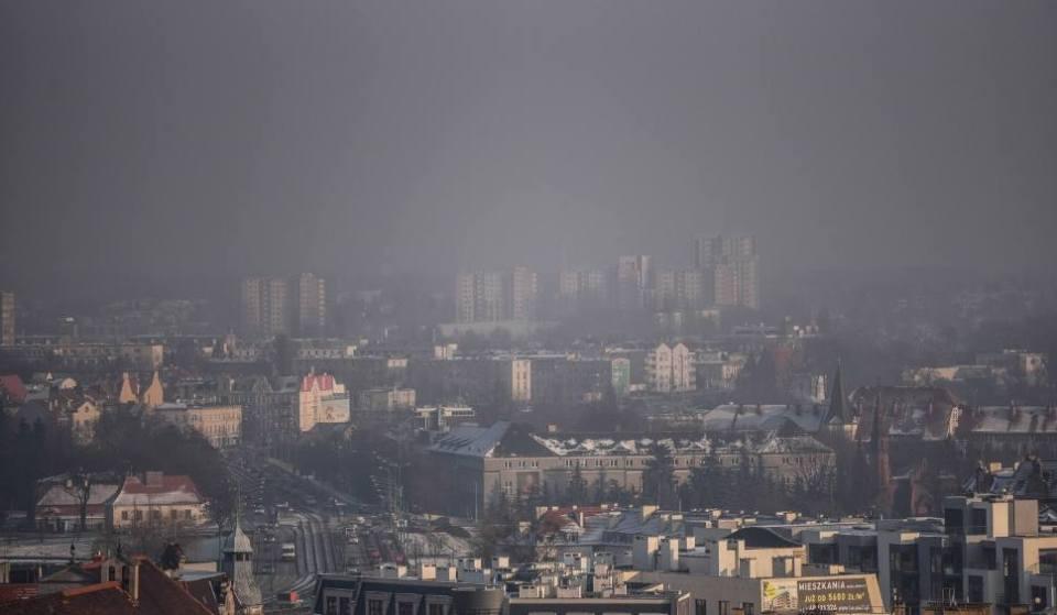 Znalezione obrazy dla zapytania smog w poznaniu