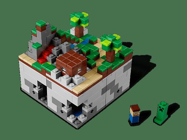 LEGO-Minecraft-Steve-Creeper