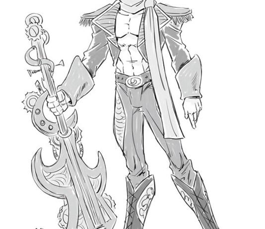 Steampunk Musician Leo Pinchot