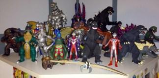 Godzilla 2014 vinyl Ultraman Gamera kaiju toys