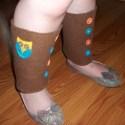 Owl Leg Warmers for Kids