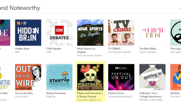 iTunes New and Noteworthy Podcast
