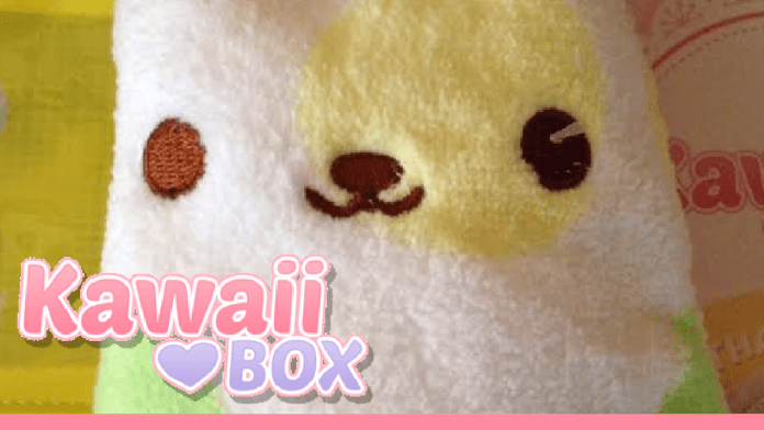 Kawaii Box Unboxing on Youtube - October 2015