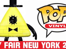 Pop Vinyl New York Toy Fair 2017 | Bill Cipher from Gravity Falls