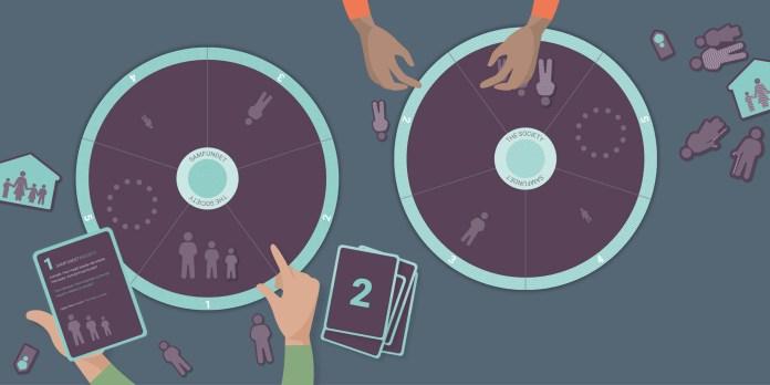 Dialogredskab til integration af flygtninge udviklet af D-sign Tegnestuen