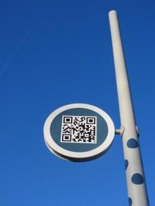 pejlemærkerne i Kolding er nytænkende skiltedesign udført af D-sign Tegnestuen og designtegnestuen