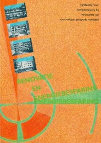 Handleiding Energiebesparing bij Verbetering van Vooroorlogse Woningbouw ISBN 90-6275-679-4 kl