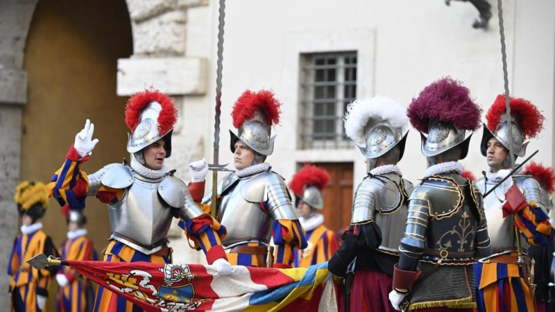 Swiss Guards celebrate 515 years as guardians of Catholic pope