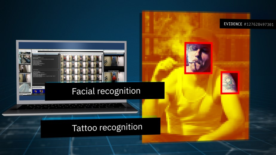 Managing Digital Evidence with IBM. Facial Recognition.
