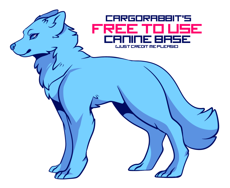 Free To Use Canine Base