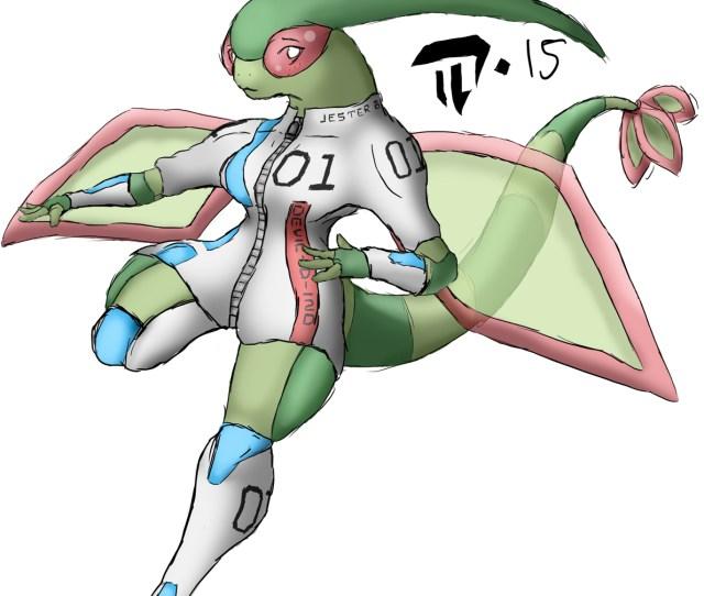 Rough Anthro Flygon Futa 20150808 Soccer Ver