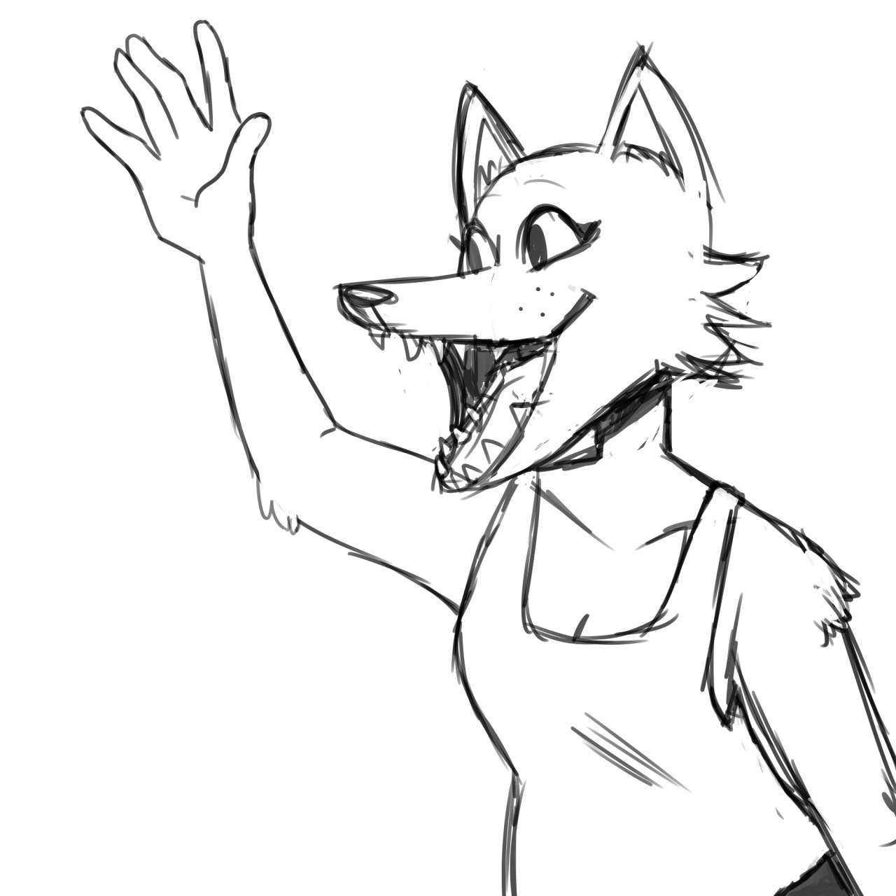 Want An African Hunting Dog Oc Drawn It S Not A Dog
