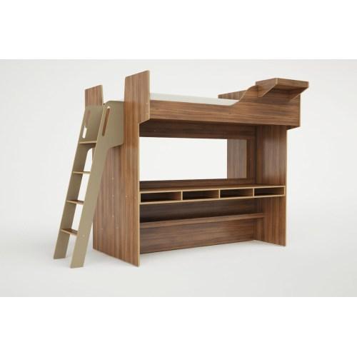 Incredible Stairs Bedroom Full Size Loft Bed Frame Regarding King
