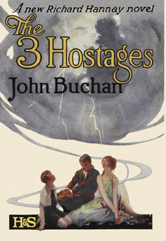 Cover of an early edition of the three Hostages