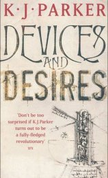 Devices and Desires (Engineer Trilogy, #1)