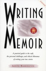 Writing the Memoir by Judith Barrington