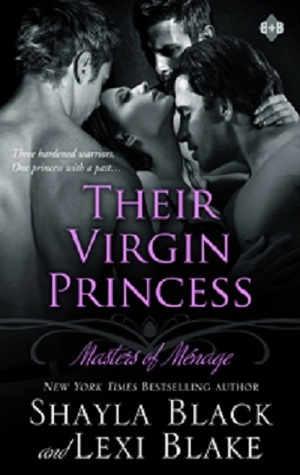 Their Virgin Princess (Masters of Menage #4)