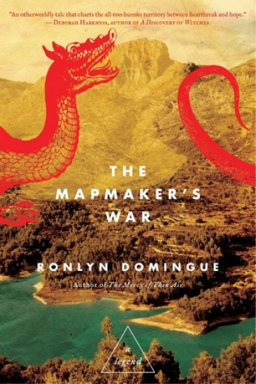 Release Day Feature + Giveaway! The Mapmaker's War: A Legend by Ronlyn Domingue