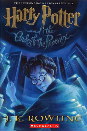 harry potter and the order of the phoenix - jk rowling