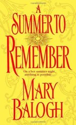 Book Review: Mary Balogh's A Summer to Remember