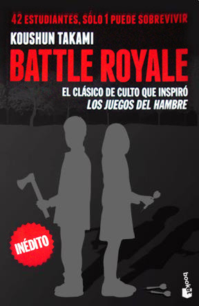 Battle Royale Book Cover