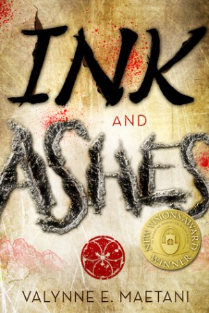 Ink and Ashes byValynne Maetani | wearewordnerds.com