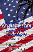 Image of cover of The American Dream - American flag with half a spider on it.