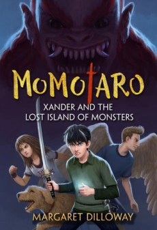 Book Cover for Xander and the Lost Island of Monsters (Momotaro, #1)