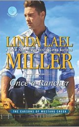 Once a Rancher (The Carsons of Mustang Creek, #1)