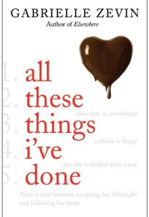 #Printcess review of All These Things I've Done by Gabrielle Zevin