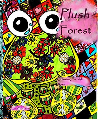 Plush Animals coloring book review