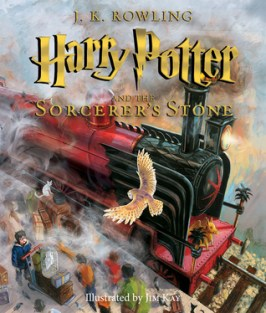 Harry Potter and the Sorcerer's Stone: The Illustrated Edition (Harry Potter #1)